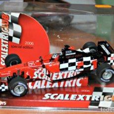 Scalextric: FÓRMULA 1. COCHE DEL CLUB SCALEXTRIC 2006. Lote 126359087