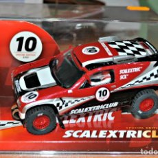 Scalextric: VW TOUAREG EDICION ESPECIAL CLUB 2010 DE SCALEXTRIC. Lote 126359167