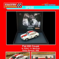 Scalextric: SCALEXTRICPASSION SP030 FIAT 850 COUPE. Lote 126391427