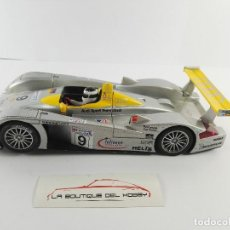 Scalextric: AUDI R8 24H LE MANS 2000 SCALEXTRIC 6076. Lote 128426991