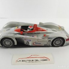 Scalextric: AUDI R8 24H LE MANS 2000 SCALEXTRIC 6036. Lote 128427131