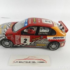 Scalextric: SEAT LEON SCALEXTRIC 6133. Lote 128445223