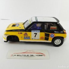 Scalextric: RENAULT 5 MAXI TURBO SCALEXTRIC ALTAYA. Lote 128445911