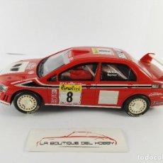 Scalextric: MITSUBISHI LANCER EVO VII WRC MONTE CARLO 2002 SCALEXTRIC 6089. Lote 128449735