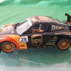 Scalextric: PORSCHE 911 GT3 CUP #28 UPS SCALEXTRIC TECNITOYS 2009. Lote 128474883