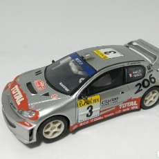 Scalextric: PEUGEOT 206 WRC SCALEXTRIC TECNITOYS. Lote 129343086