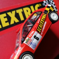 Scalextric: SCALEXTRIC RALLY MÍTICOS- MITSUBISHI LANCER EVO VII- (E.FORÉS-X.ALUJU), ALTAYA. COMPLETO!.. Lote 130594406