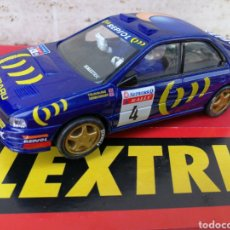Scalextric: SCALEXTRIC RALLY MÍTICOS- SUBARU IMPREZA WRC RALLY, COMPLETO!.. Lote 130594864