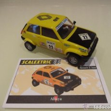 Scalextric: SCALEXTIC. ALTAYA. RENAULT 5 COPA.. Lote 179533157