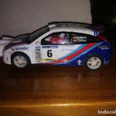 Scalextric: FORD FOCUS WRC - TECNIYOYS - SCALEXTRIC - PROBADO Y FUNCIONANDO. Lote 131011124
