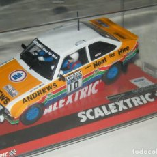 Scalextric: FORD ESCORT MKII HEAT FOR HIRE SCALEXTRIC NUEVO. Lote 131022296