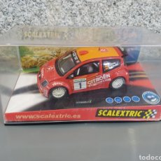 Scalextric: CITROËN C2 #1 SCALEXTRIC | TECNITOYS REF. 6166 | 1366. Lote 132155743