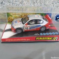 Scalextric: SCALEXTRIC HYUNDAI ACCENT WRC #10 REF. 6120. Lote 132157449