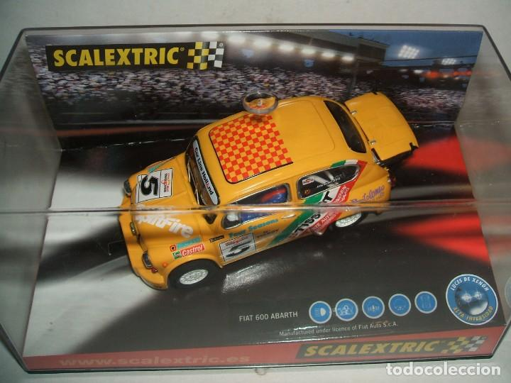 FIAT 600 ABARTH TISSOT SCALEXTRIC REF.-6146 (Juguetes - Slot Cars - Scalextric Tecnitoys)