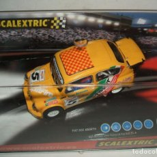 Scalextric: FIAT 600 ABARTH TISSOT SCALEXTRIC REF.-6146. Lote 132287958