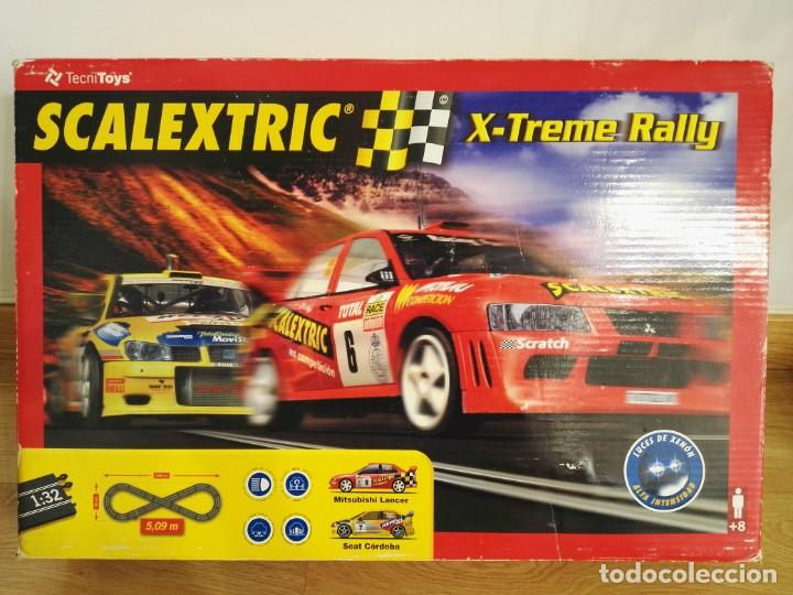 CIRCUITO X-TREM RALLY SCALEXTRIC 8067 SIN COCHES (Juguetes - Slot Cars - Scalextric Tecnitoys)