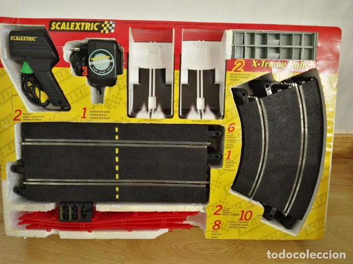 Scalextric: CIRCUITO X-TREM RALLY SCALEXTRIC 8067 SIN COCHES - Foto 2 - 132553138
