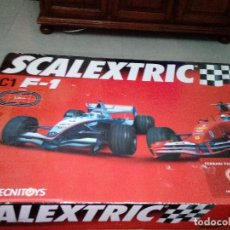 Scalextric: SCALEXTRIC. C1 F1. MUY COMPLETO. NO FUNCIONA.. Lote 132647934
