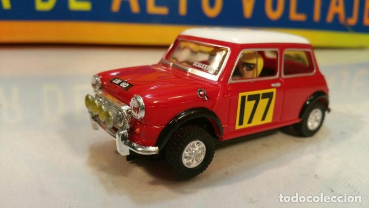 SCALEXTRIC MINI COOPER (Juguetes - Slot Cars - Scalextric Tecnitoys)