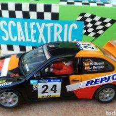 Scalextric: SEAT CORDOBA WRC REPSOL SCALEXTRIC TECNITOYS.. Lote 133831010