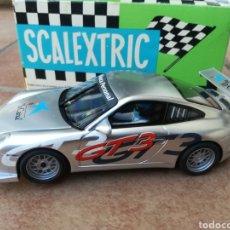 Scalextric: PORSCHE 911 GT3 LA CAIXA SCALEXTRIC TECNITOYS.. Lote 133831210