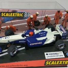 Scalextric: SCALEXTRIC WILLIAMS BMW FW23 F1 MONTOYA REF. 6096 TECNITOYS. Lote 134037022