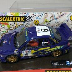 Scalextric: SCALEXTRIC SUBARU WRC ACRÓPOLIS 2001 REF. 6080. Lote 134037617