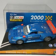 Scalextric: SCALEXTRIC PORSCHE 911 GT1 CLUB SCALEXTRIC TECNITOYS. Lote 134037917
