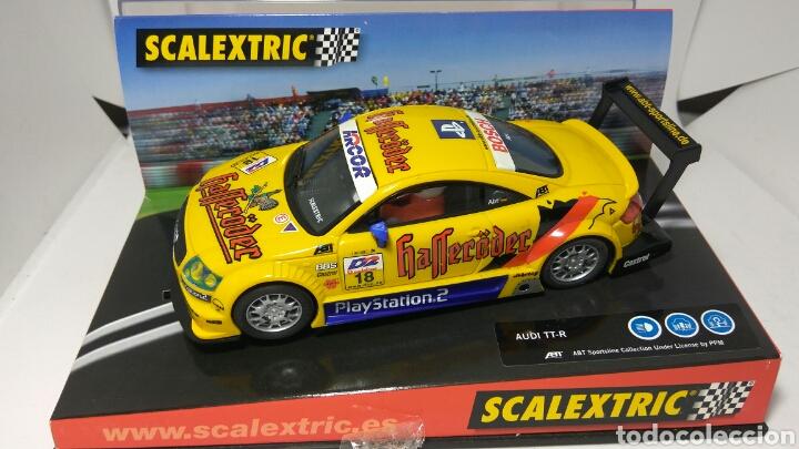SCALEXTRIC AUDI TT TECNITOYS HOCKEHEIM 2001 REF. 6081 (Juguetes - Slot Cars - Scalextric Tecnitoys)