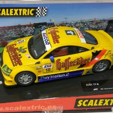 Scalextric: SCALEXTRIC AUDI TT TECNITOYS HOCKEHEIM 2001 REF. 6081. Lote 134038221