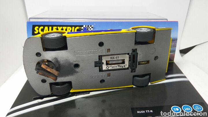 Scalextric: SCALEXTRIC AUDI TT TECNITOYS HOCKEHEIM 2001 REF. 6081 - Foto 2 - 134038221