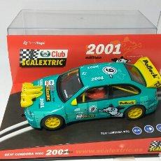Scalextric: SEAT CORDOBA WRC CLUB SCALEXTRIC 2001. Lote 134039809