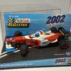 Scalextric: SCALEXTRIC FORMULA 1 JAGUAR CLUB SCALEXTRIC 2002 TECNITOYS. Lote 134069526