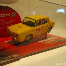 Scalextric: RENAULT 8 TS YELLOW REF. 6380 NUEVO SCALEXTRIC TECNITOYS. Lote 40058989