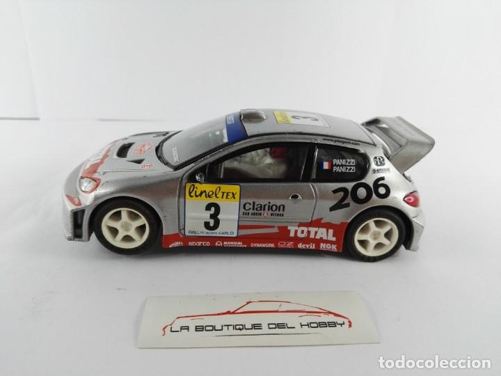 PEUGEOT 206 WRC SCALEXTRIC (Juguetes - Slot Cars - Scalextric Tecnitoys)