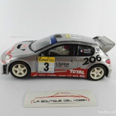 Scalextric: PEUGEOT 206 WRC SCALEXTRIC. Lote 134219858