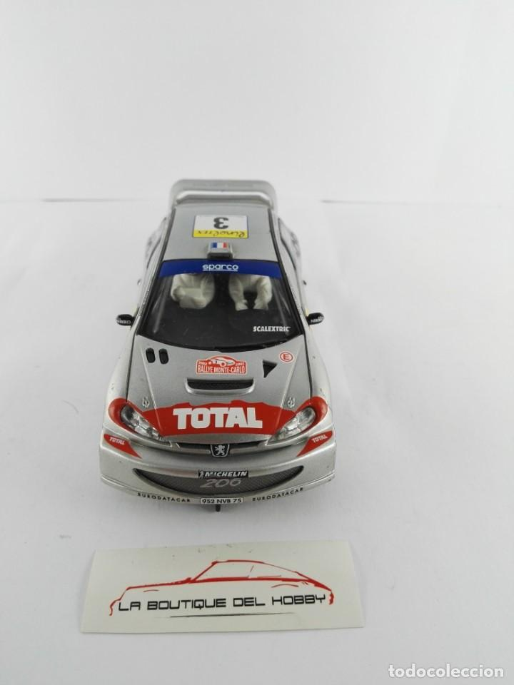Scalextric: PEUGEOT 206 WRC SCALEXTRIC - Foto 3 - 134219858