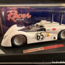 Scalextric: SCALEXTRIC RACER CHAPARRAL 2E MOSPORT CANAM - 1966 # 65 P.HILL REFERENCIA RCR43. Lote 134288337