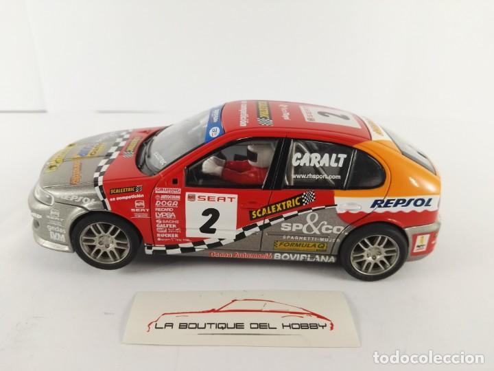 SEAT LEON SCALEXTRIC 6133 (Juguetes - Slot Cars - Scalextric Tecnitoys)