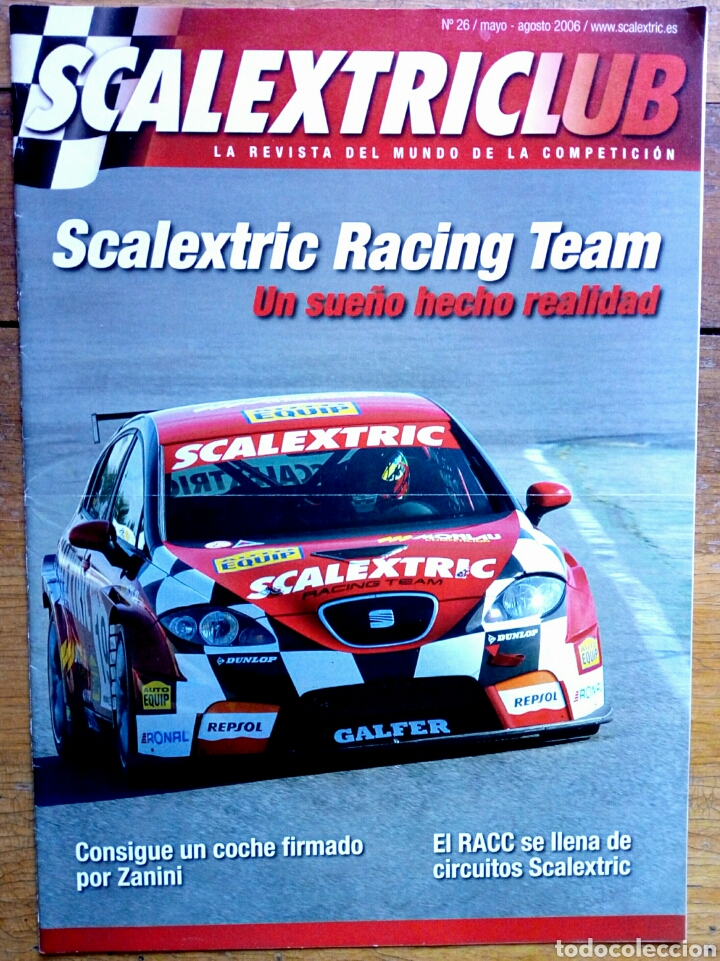 REVISTA SCALEXTRICLUB N° 26 - CLUB SCALEXTRIC OFICIAL - (Juguetes - Slot Cars - Scalextric Tecnitoys)