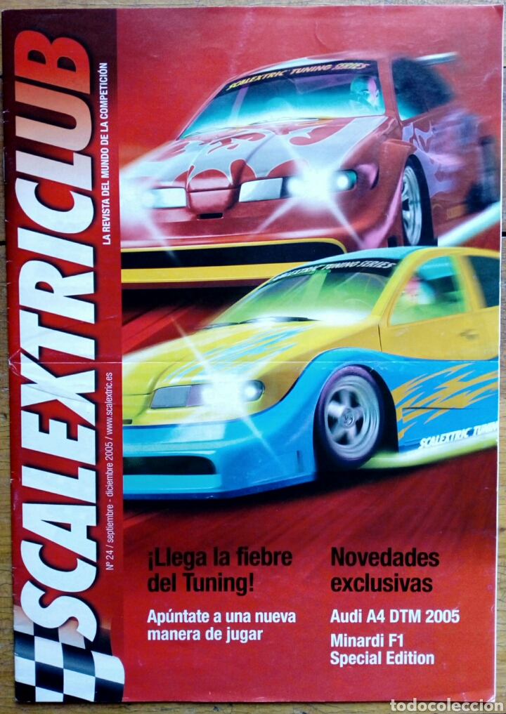 REVISTA SCALEXTRICLUB N° 24 - SCALEXTRIC CLUB OFICIAL - TECNITOYS - (Juguetes - Slot Cars - Scalextric Tecnitoys)