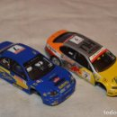 Scalextric: LOTE 2 COCHES SCALEXTRIC DIGITAL SYSTEM - IMPREZA Y TOLEDO - TECNITOYS - MIRA DETALLES - ENVÍO 24H. Lote 163881082