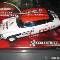 Scalextric: SCALEXTRIC CITROEN DS19 CLUB 2014 REF. A10150S300. Lote 152329205