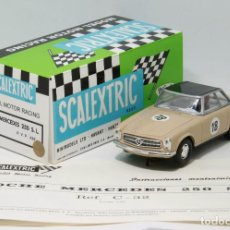 Scalextric: MERCEDES 250 SL SCALEXTRIC EDICION LIMITADA PLANETA + REPRO BOX EXIN. Lote 135463934