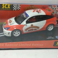 Scalextric: SCALEXTRIC FORD FOCUS WRC LONDON TOY FAIR SCX TECNITOYS REF. 60920. Lote 146383744
