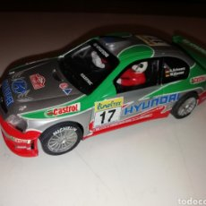 Scalextric: HYUNDAI ACCENT MONTECARLO 2002 SCALEXTRIC. Lote 137232357