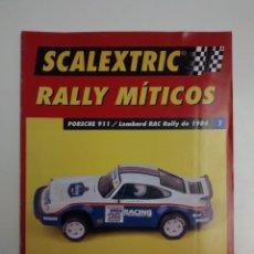 Scalextric: COLECCION DE FASCICULOS 1-36 DE RALLYS MITICOS DE ALTAYA. Lote 137345090