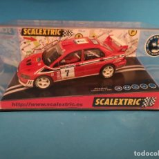 Scalextric: SCALEXTRIC MITSUBISHI LANCER EVO 7 WRC #7 REF.6090. Lote 137591286