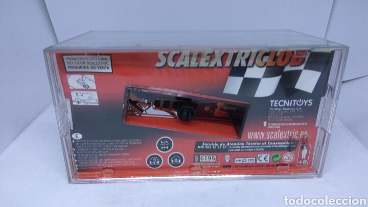 Scalextric: SCALEXTRIC FORMULA 1 CLUB SCALEXTRIC 2006 TECNITOYS - Foto 2 - 137691289