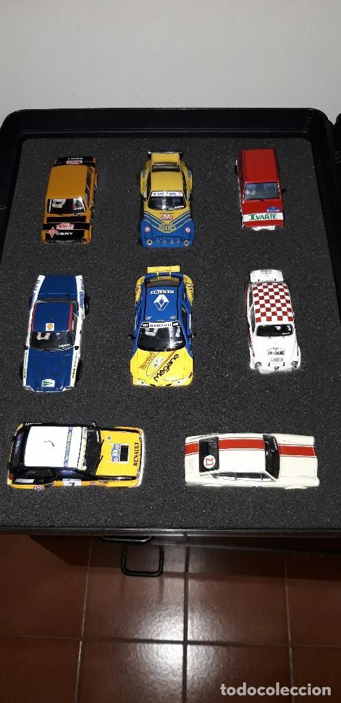 COLECCIÓN RALLYES DE ESPAÑA 1967-1998 (16 COCHES) ALTAYA (Juguetes - Slot Cars - Scalextric Tecnitoys)